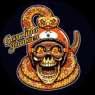 Sticker GJ Snake rund