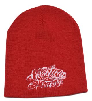 Beanie Tattoo red