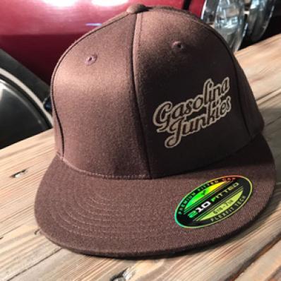 Gasolina Junkies Logo Cap braun