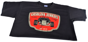 GJs   Shirt Hotrod black