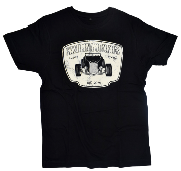 GJs Shirt Hotrod black white
