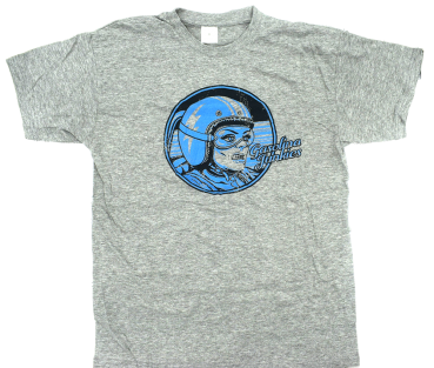 GJs Blue Racer Shirt  grau