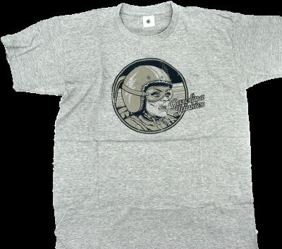 GJs Grey Racer Shirt  grau