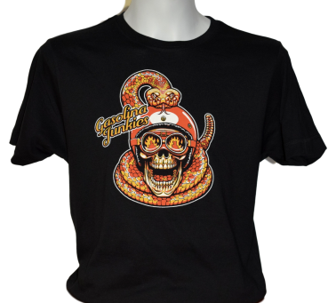 GJ Shirt Snake and Skull