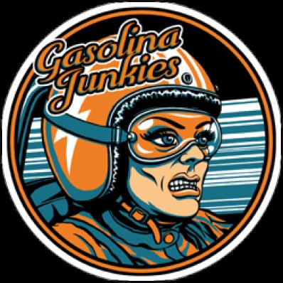 Sticker GJ Racer rund