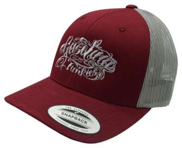 Gasolina Junkies Tattoo Cap  bordeux