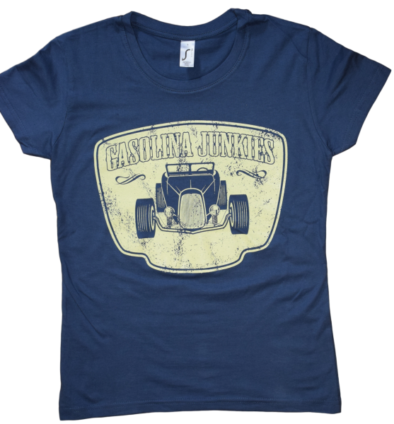 Hotrod  Girlie Shirt denim